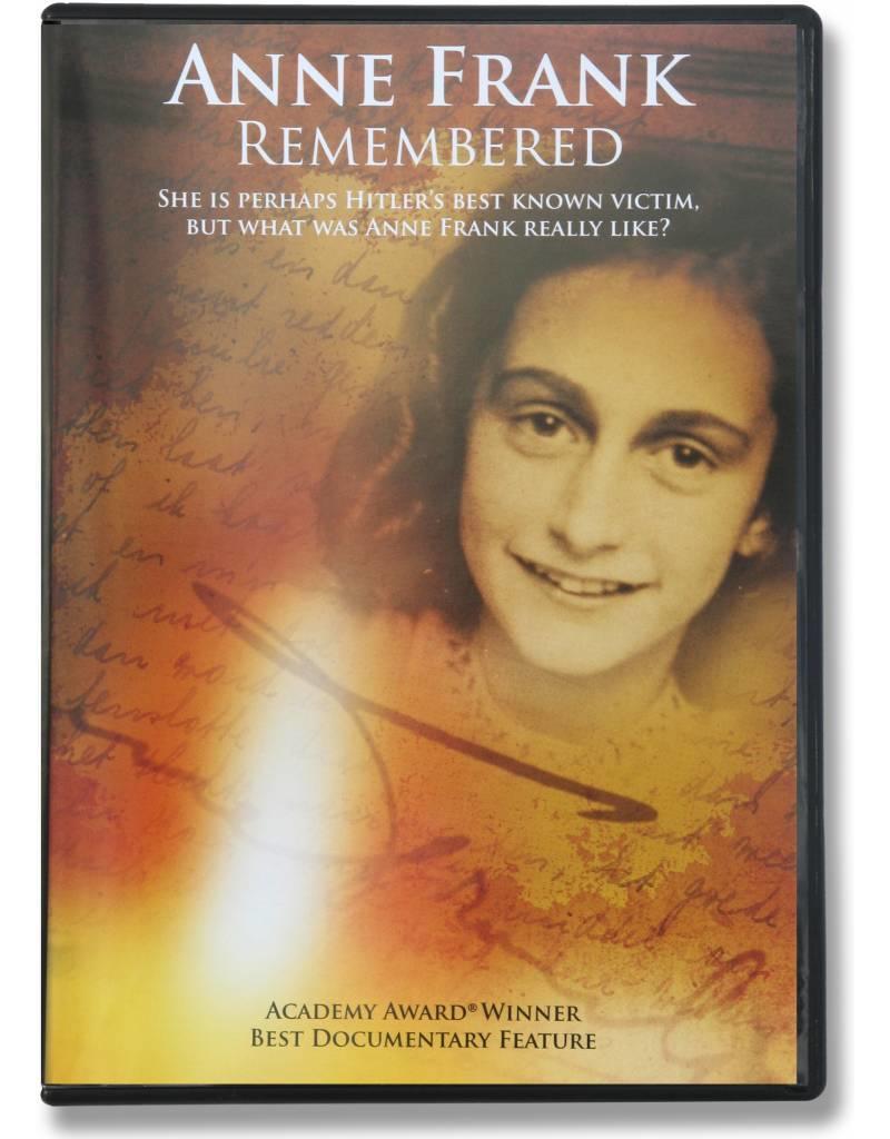 Anne Frank Remembered - Dokumentarfilm  (dvd)