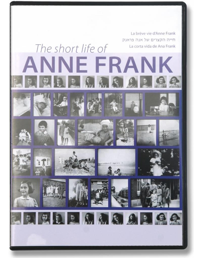 La corta vida de Ana Frank - Documental (dvd)