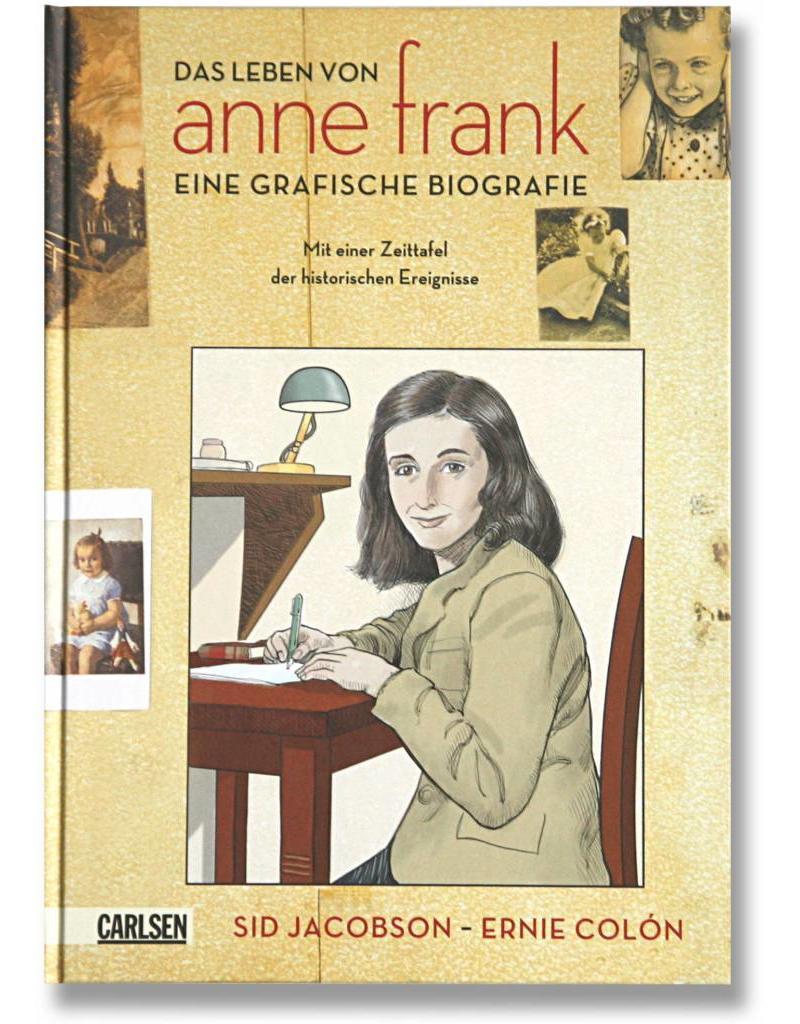 Ana Frank: la biografía gráfica (5 idiomas)
