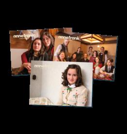 Tarjetas postales Ana Frank video diario