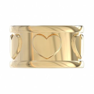 Ring Kippa Heart
