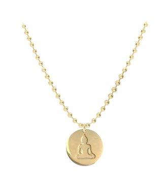 Halskette Indi Buddha