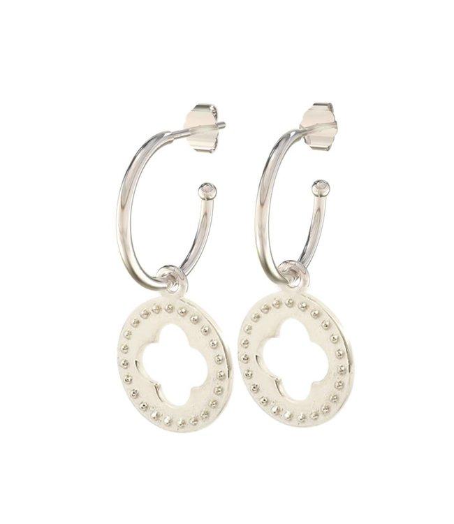 Earring 22 Quatrefoil