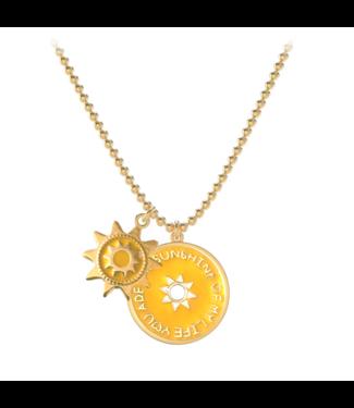 Necklace Summer Shining