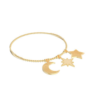 Bracelet Set 7-Moon&Stars