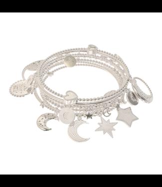Armband Set 7-Moon&Stars