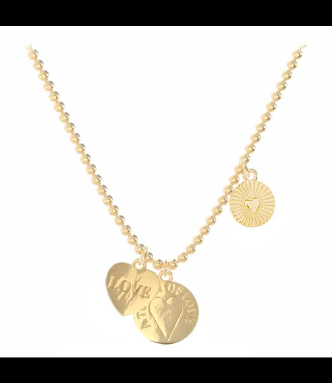 Necklace Jezebel Love