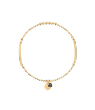 Bracelet Candy-Obsidian Black