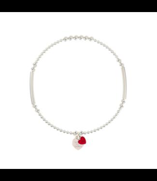 Bracelet Candy-Scarlet Red