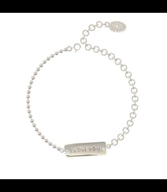Bracelet Bindi I love you