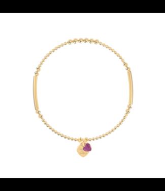 Bracelet Candy-Orchid Purple
