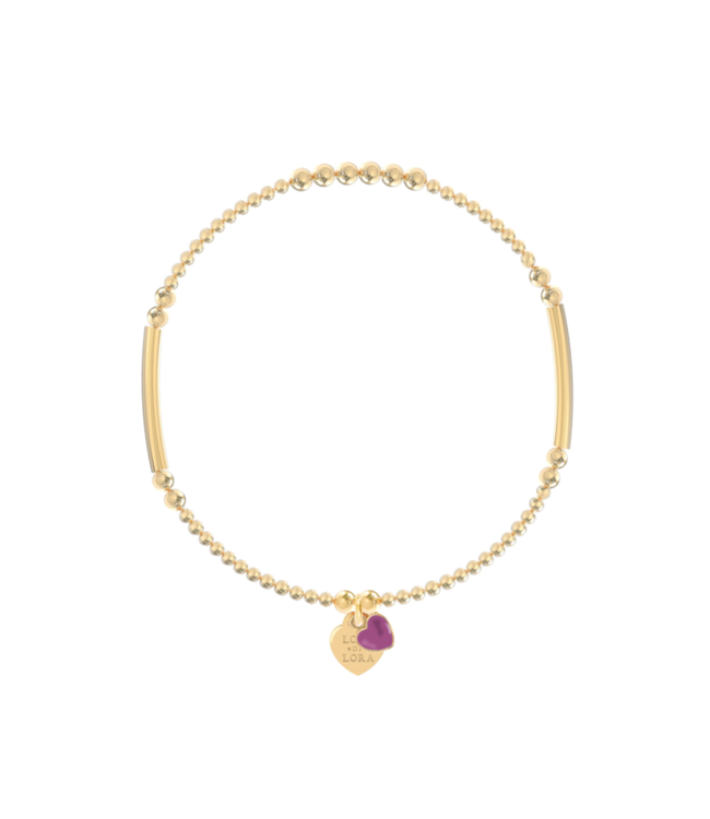 Armband Candy-Orchid Purple