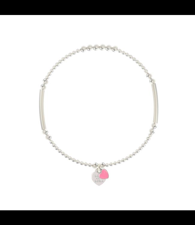 Armband Candy-Bubblegum Pink