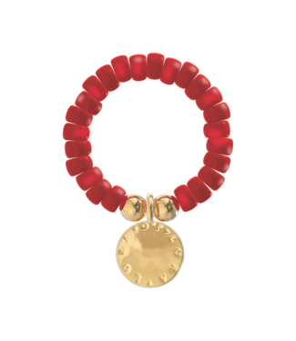 Ring Cookie-Scarlet Red
