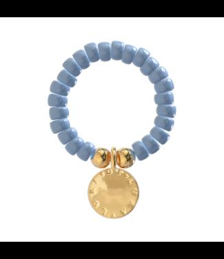 Ring Cookie-Denim Blue