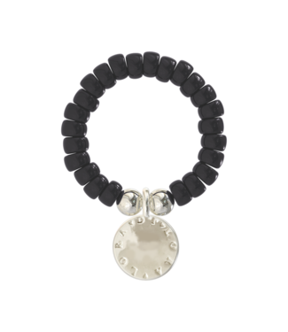 Ring Cookie-Obsidian Black