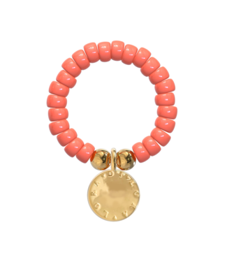 Ring Cookie-Living Coral