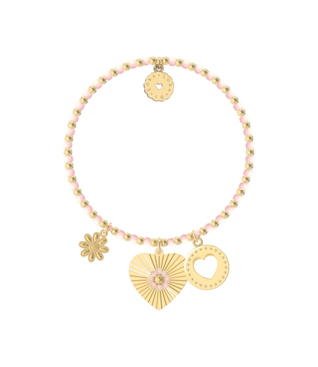 Armband Bachata St. Tropez (Blossom Pink)