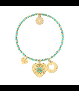 Bracelet Bachata St. Tropez (Caribbean Turquoise)