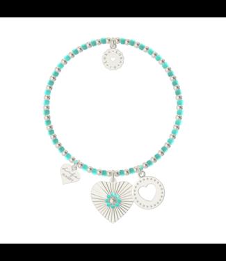 Armband Bachata St. Tropez (Caribbean Turquoise)
