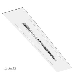 Nelux bandrasterarmatuur LED 1720mm Cool