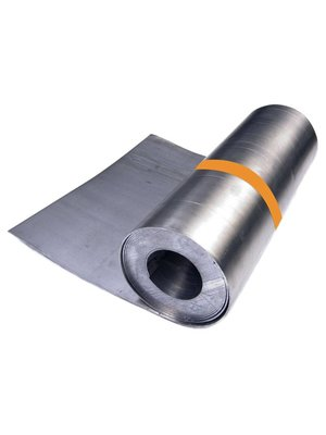 Dak en Lood Bladlood 40 ponds, rol 100 cm x 125 cm, 3,53 mm dik