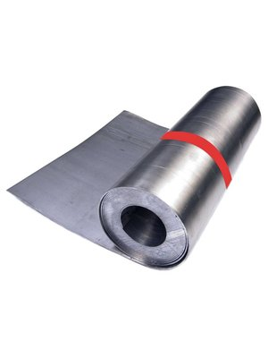 Dak en Lood Bladlood 25 ponds, rol 100 cm x 200 cm, 2,2 mm dik