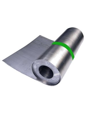 Dak en Lood Lood 15 ponds, rol lood 100 cm x 333 cm, 1,32 mm dik, 50 kg
