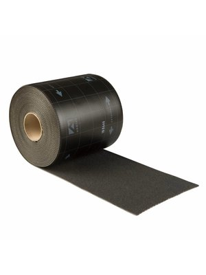 Ubbink loodvervanger Ubiflex Standaard Loodvervanger, 15 cm x 12 meter, zwart
