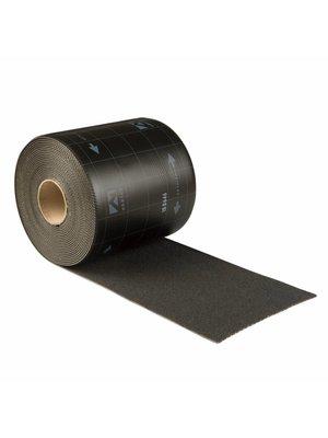 Ubbink Ubiflex Standaard Loodvervanger, 25 cm x 12 meter, zwart