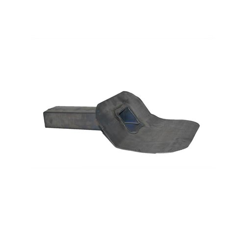 Dak en Lood Loden kiezelbak 60 x 100 mm 45°, Lang model circa 450 mm gelast