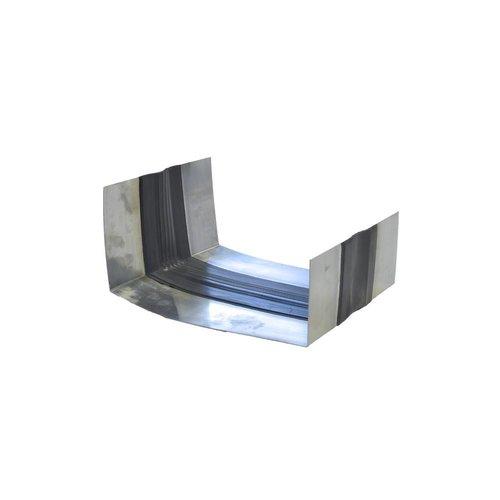 Zinken Expansieband met rubber - B44 incl. kraalrand op maat gezet