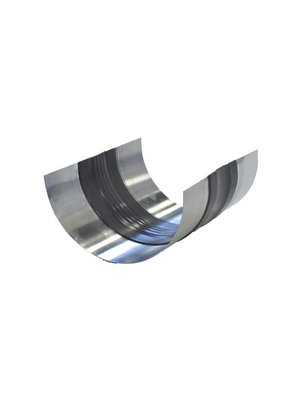 Zinken Expansieband met rubber - M44 incl. kraalrand op maat gezet