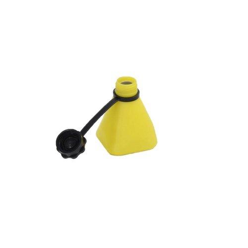 Toebehoren - Anti-leegloopflesje geel à 150 ml