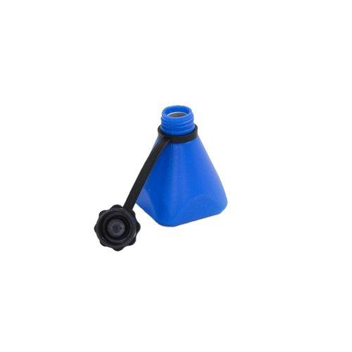 Toebehoren - Anti-leegloopflesje blauw à 150 ml
