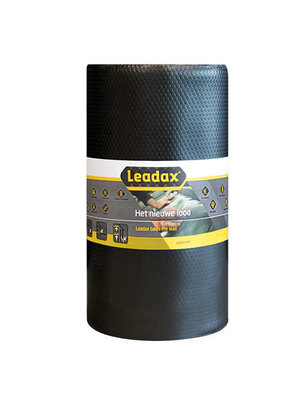 Leadax Leadax Loodvervanger - 25 cm x 6 meter - Zwart