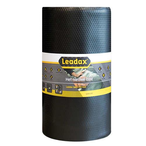 Leadax loodvervanger Leadax Loodvervanger, 33 cm x 6 meter, zwart