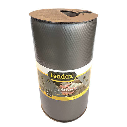 Leadax Leadax Loodvervanger, 15 cm x 6 meter, grijs
