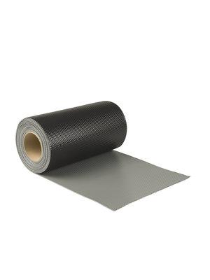 Ubbink Ubiflex Extreme Loodvervanger, 15 cm x 6 meter, zwart/grijs