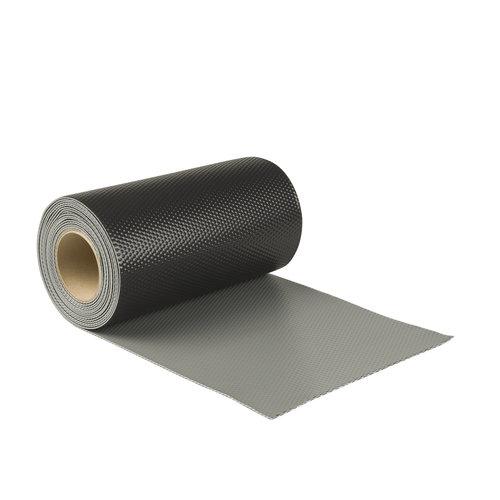 Ubiflex Ubiflex Extreme Loodvervanger, 30 cm x 6 meter, zwart/grijs