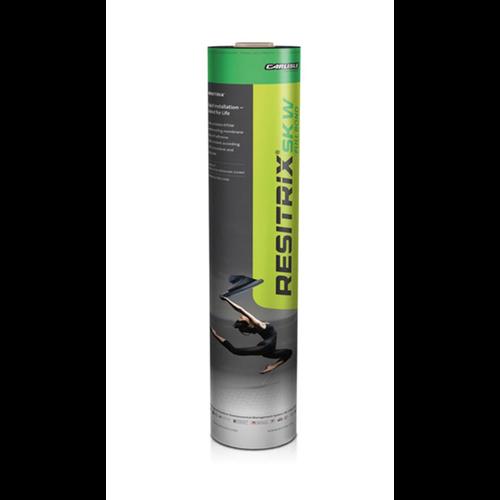 Dak en Lood Resitrix SK W Full bond 10 x 1 m, zelfklevend EPDM, zwart 2,5 mm