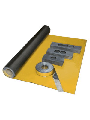 Dak en Lood X-Ready Zelfklevend Loodbehang, t.b.v. geluids- en stralingsisolatie. 600 x 2600 x 2 mm