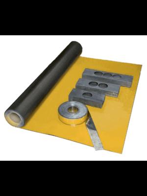 Dak en Lood X-Ready bladloodbehang, t.b.v. geluids- en stralingsisolatie. 600 x 2600 x 1 mm