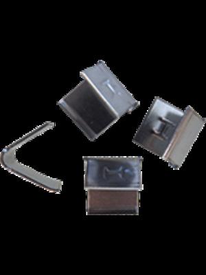 Leadax Leadax RVS voegklem,  zak 25 stuks