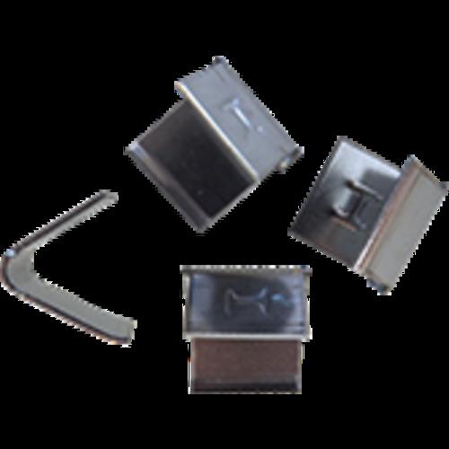 Leadax loodvervanger Leadax RVS voegklem,  zak 25 stuks