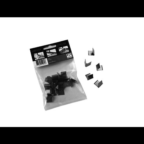 Ubbink loodvervanger Ubiflex RVS voegklem,  zak 25 stuks