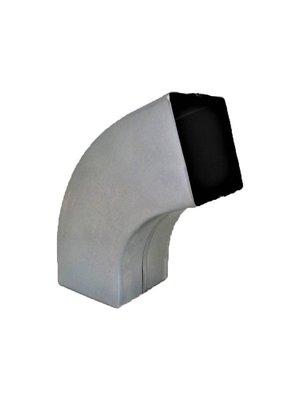 Zinken bocht vierkant gelast - 80x80mm 72gr.