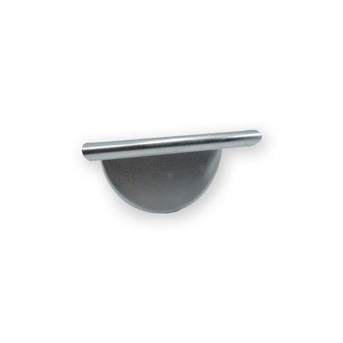 Zinken kopschot met kraal - M30 Links voor mastgoot