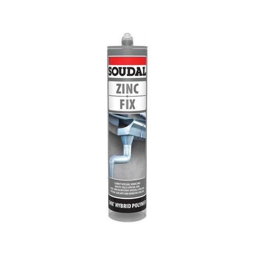 Dak en Lood Soudal Zinc Fix lijmkit, 290 ml