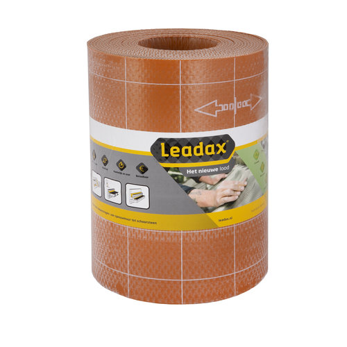 Leadax loodvervanger - Het nieuwe lood Leadax Loodvervanger, 40 cm x 6 meter, terracotta rood